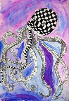 Awesome Octopuses - Artsonia Lesson Plan