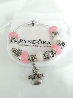 Authentic Pandora Bracelet  #PANDORA Pandora Bangle Bracelet, Silver Bangle Bracelets, Bracelet Clasps, Pandora Heart Charm, Pandora Charms, Pandora Accessories, Rose Gold Chain, Fashion Bracelets, Ebay