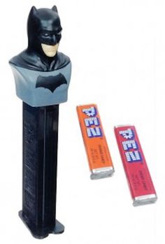**BATMAN Pez Candy & Dispenser D.C. COMICS New in Package New COLLECTIBLE!** #PezCandy