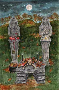 Tarot - Oracle | Hidden Path - The Secret Path | 39 | Samhain by Mickie Mueller