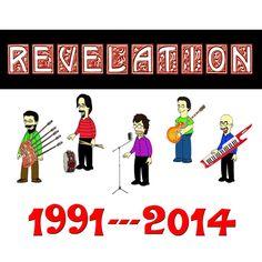 Revelation (Tributo Guns N' Roses, Genesis) al Jailbreak (03 aprile 2015) Concerto di Musica Rock , Musica Live Roma