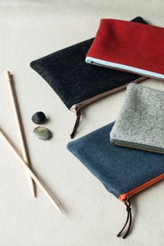 t&h wool notions pouch can use old wool sweaters to make!