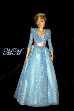 Princess Diana Dolls for Sale | Robes pour princess Diana doll - Princesse Diana Lady Di Doll
