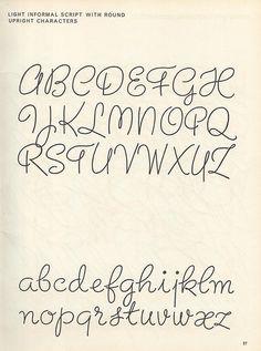 Script lettering (1957) p21