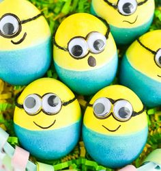 Decorate your Easter eggs like Minions this year