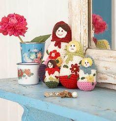 Crochet Babushka Dolls!!!!