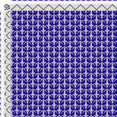 draft image: Figurierte Muster Pl. XXVIII Nr. 14 (e), Die färbige…