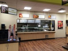 This fantastic cafeteria signage done by Speedpro Signs Kingston Ontario!