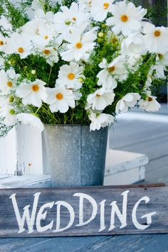 daisies!...best wedding flower