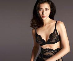 Liu Wen, La Perla Fall/Winter 2015 Campaign by Mert & Marcus #voluminous
