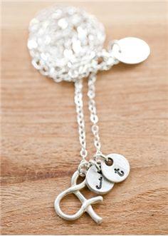Ampersand necklace by lisa leonard