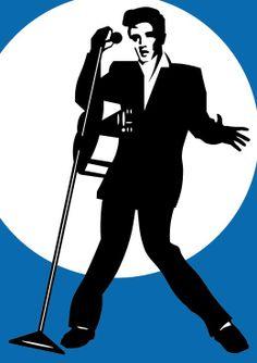 Elvis Stencil Stencil Pinterest Stencils