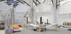 Michael Beutler. Moby Dick, 2015, Installationsansicht, Hamburger Bahnhof - Museum für Gegenwart - Berlin