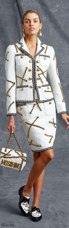Rosamaria G Frangini Couture Fashion, Runway Fashion, Womens Fashion, Fashion Trends, Style Work, My Style, Moda Chic, All About Fashion, White Fashion