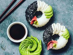 Veganska sushi donuts tar över Instagram