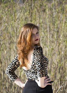 Kup mój przedmiot na #vintedpl http://www.vinted.pl/damska-odziez/bluzki-z-3-slash-4-rekawami/9148722-seksowna-bluzka-w-panterke-lato-kuszaca