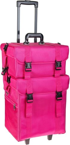 SHANY - SOFT - MAKEUP ARTIST - ROLLING - TROLLEY - COSMETIC CASE -- SUMMER ORCHID