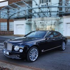 """10.5 tusind Synes godt om, 55 kommentarer – Tim - Shmee (@shmee150) på Instagram: """"1 WO, Mr Durheimer's car, and a very famous plate! #Bentley #Mulsanne #Esso #SynergyFuels…"""""""