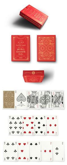 2nd Edition Deck Red . Misc. Goods Co.                                                                                                                                                                                 More