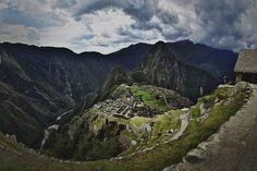 Machu Picchu, no Peru,