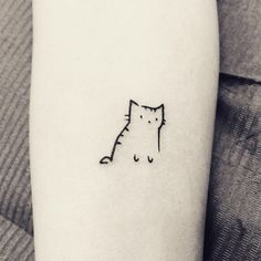 Cutest Minimalistic Tattoo Ideas | ko-te.com by @evatornado |