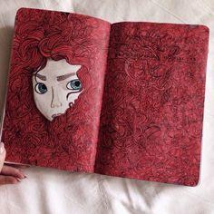 Imagem de art, wreck this journal, and WTJ
