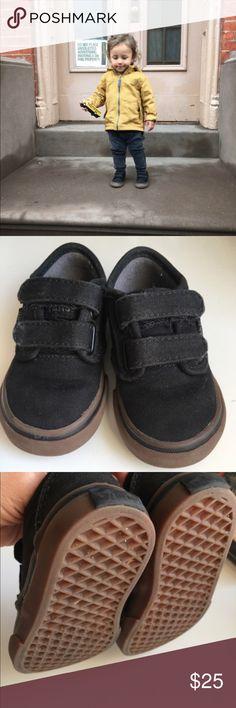 adidas samoa nero / gomma unico bambino bambino numero 8, indossato solo due volte