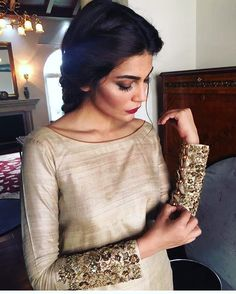 "1,215 Likes, 22 Comments - Maheen Taseer (@maheengtaseer) on Instagram: ""Keeping it simple and chic! Embellished cuffs is one of our all time favourite trends. #MGT…"""