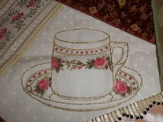 Pigtales and Quilts: TeaTime Crazy Quilting Round Robin