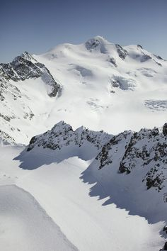 Skiing at Pitztal Glacier: Worth the journey to 3,400 meters just for the captivating panoramic views...