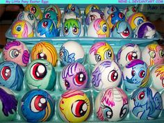 Easter-riffic Easter Eggs Featuring Superheroes, Angry Birds, Walking Dead, and More