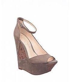 Jessica Simpson Maggey Wedge - Taupe
