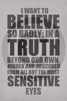 X-Files: Mulder's Closure Monologue Print