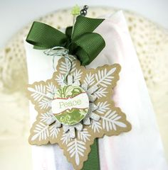 Green Gift Wrap Package Presentation