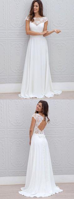 beach wedding dresses,lace wedding dresses,simple wedding dresses,bridal gowns @simpledress2480