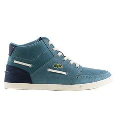 Lacoste Crosier Sail Mid RA LEM Moccasin Fashion Sneaker Shoe - Mens 3d088ec6d1