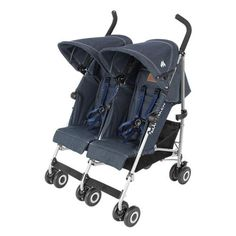 The Maclaren BMW Twin Stroller is the perfect collaboration of form and function. Utilizing the highest quality materials, this lightweight stroller is simple to steer with and easy to fold, ready to impress any car enthusiast. Double Baby Strollers, Twin Strollers, Best Baby Strollers, Best Double Stroller, Twin Pram, Best Prams, Best Lightweight Stroller, Bmw Black, Rain