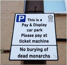 Leicester City Council with a sense of humour! via TheMarketingblog (Couldn't stand it all over again!)