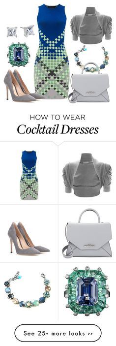 """""""All Squared Up"""" by theapatricia on Polyvore featuring Alexander Wang, WearAll, Gianvito Rossi, Anne Klein and Givenchy"""