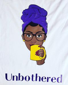 black fitness Art - Unbothered T-Shirt Black Woman African American Nubian Queen Melanin Natural Hair Black Excellence Birthday Gift for her Black History Black Love Art, Black Girl Art, My Black Is Beautiful, Black Girls Rock, Black Girl Magic, Black Love Images, Fit Black Women, Black Art Pictures, Black Artwork
