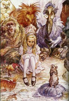 Alice e os animais
