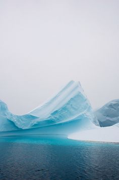 I am crazy about this shade of blue. It seems to only be found in the compacted, airless ice of glaciers. Just shows that God is the ultimate artist!