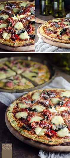 Cauliflower Pizza Ba