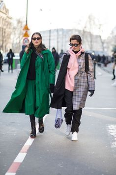 Puffers Were a Street Style Essential On Day 3 of Paris Fashion Week | Fashionista