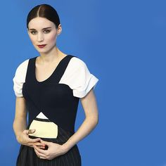 Rooney Mara in Balenciaga Resort 2013. Nicolas Ghesquiere.