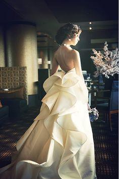 Formal Wedding, Elegant Wedding, Wedding Bride, Dream Wedding, Strapless Dress Formal, Formal Dresses, Pink Wedding Dresses, Beautiful Dresses, One Shoulder Wedding Dress