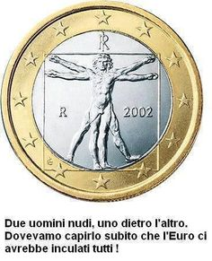 Italian Euro design/Vitruvian Man, drawing by Leonardo da Vinci Robert Langdon, Da Vinci Vitruvian Man, Euro Coins, Coin Design, Coins For Sale, Thing 1, Coin Collecting, Decir No, Funny Pictures