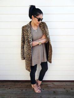 nude + leopard print