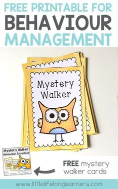 Free Mystery Walker Cards For Behavior Management How To Get Your Class To Line Up Freebies For Prep, Kindergarten, Preschool And Foundation Students Australian Teacher Classroom Management Kindergarten Classroom Management, Classroom Rules, Classroom Behaviour, Classroom Ideas, Kindergarten Behavior, Classroom Environment, School Counseling, Classroom Organization, Kindergarten Class Rules