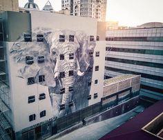 Faith47 in Johannesburg #streetart